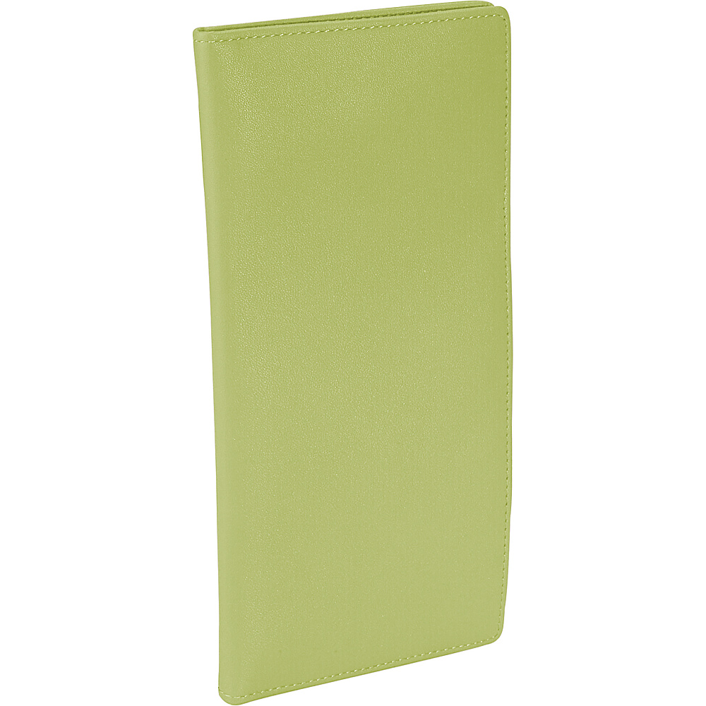 Royce Leather Passport Ticket Holder - Key Lime Green - Travel Accessories, Travel Wallets