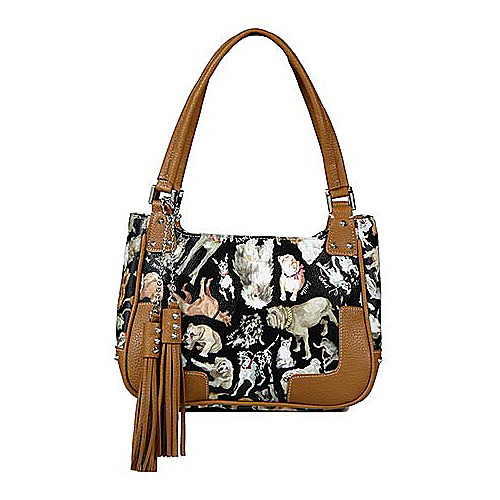 Sydney Love Cats & Dogs Small Satchel - Shoulder Bag
