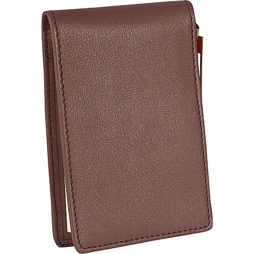 Royce Leather Deluxe Flip Style Note Jotter Coco - Royce Leather Journals Planners and Padfolios