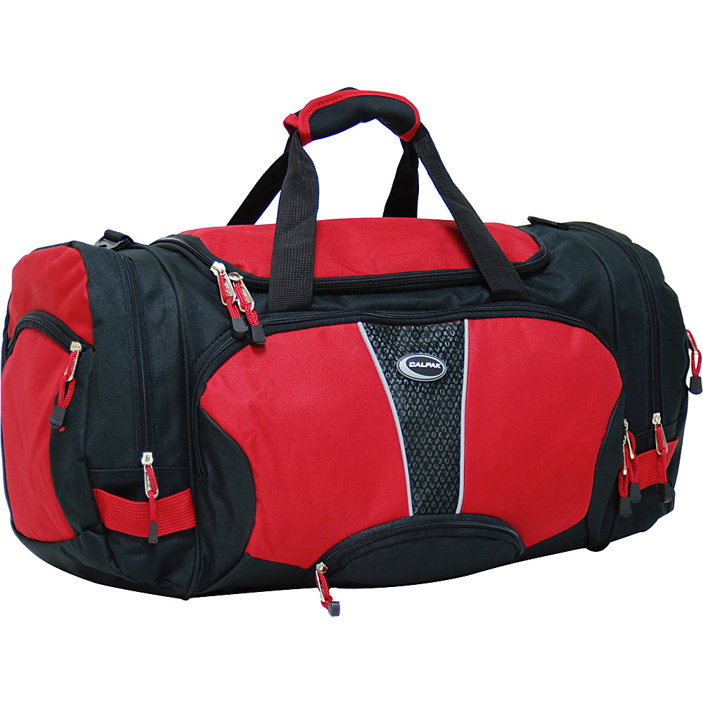 CalPak Field Pak 26 Light Weight - Deep Red - Duffels, Travel Duffels