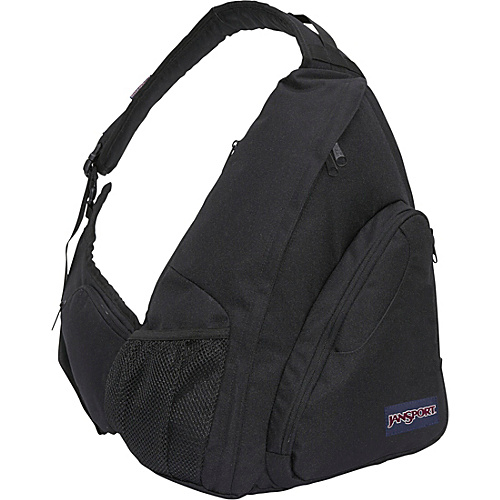 JanSport Air Cisco one shoulder Backpack Black - Backpacks, Slings