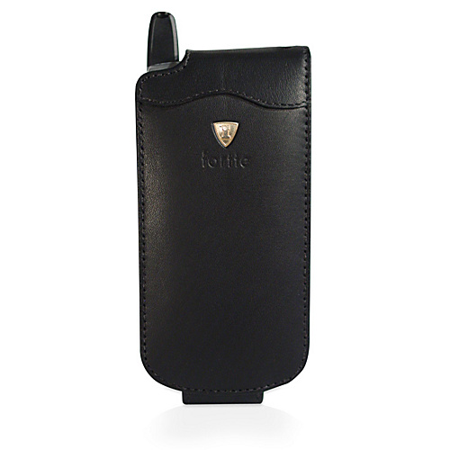 Fortte Blackberry 7100i Flip Style Leather PDA Case (No