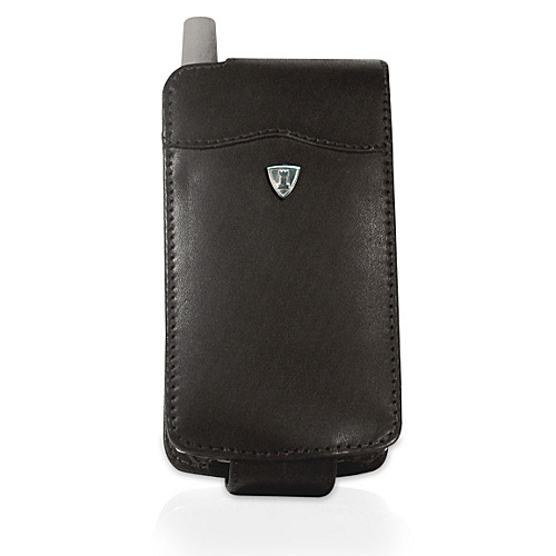 Fortte PalmOne Treo 650 Flip Style Leather PDA Case