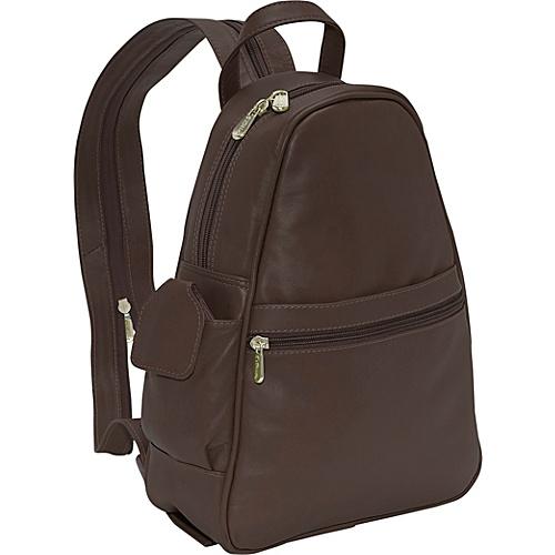 Piel Tri-Shaped Sling Bag - Chocolate