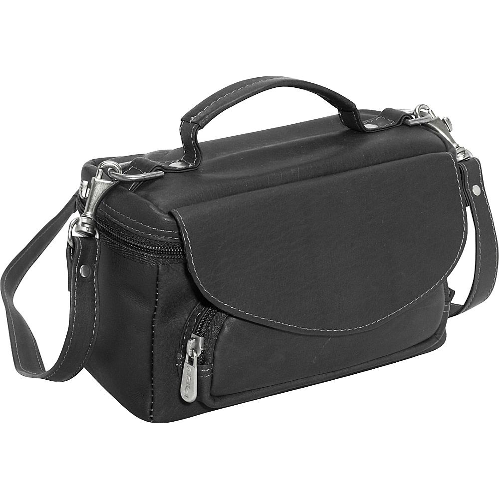 Piel Deluxe Carry-All Camera Bag - Black
