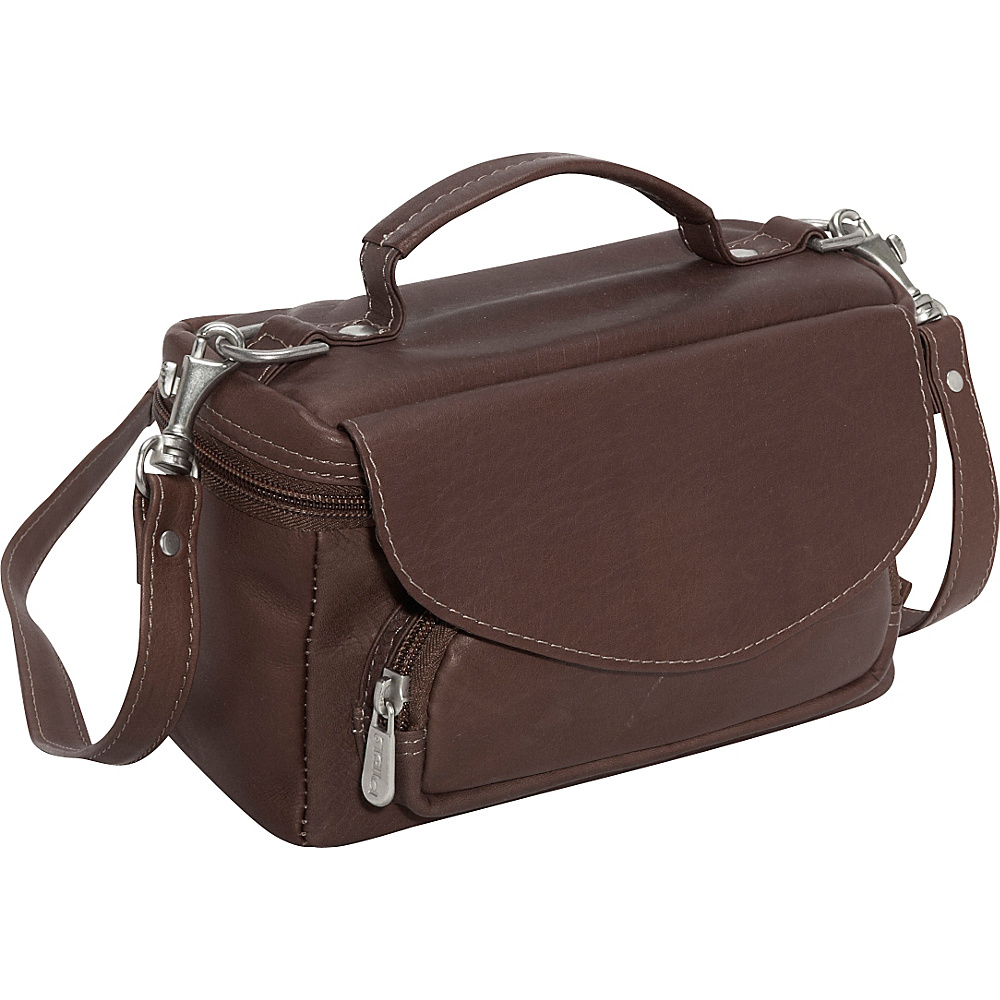 Piel Deluxe Carry-All Camera Bag - Chocolate