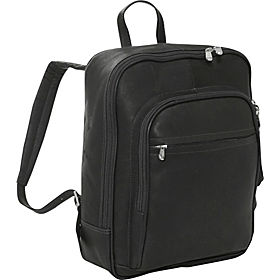 sale item: Piel Front Pocket Computer Backpack