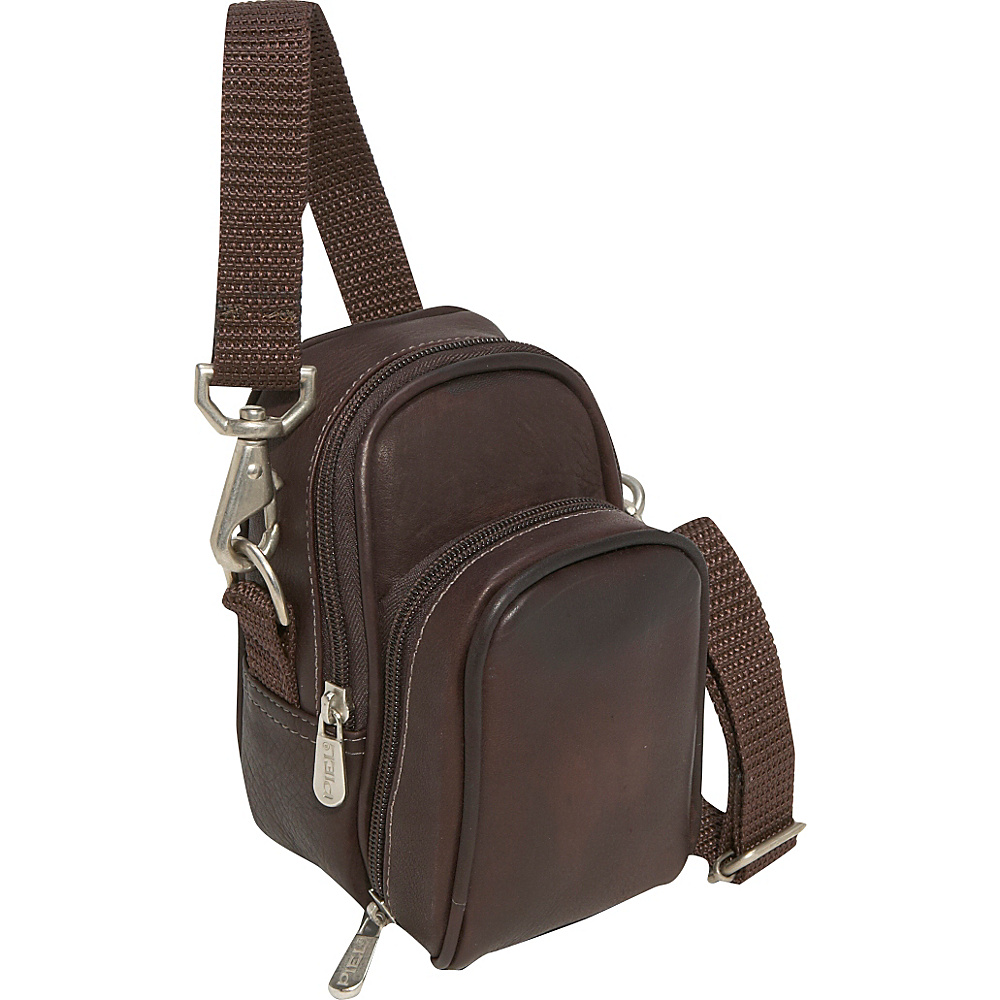 Piel Camera Bag - Chocolate