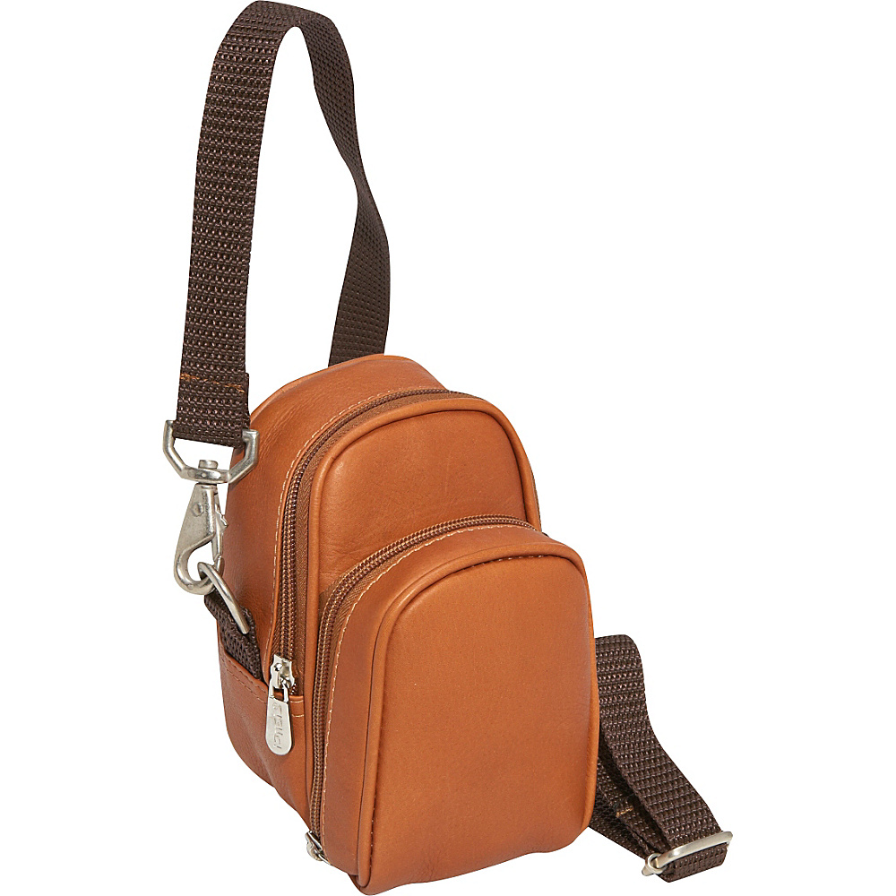 Piel Camera Bag - Saddle
