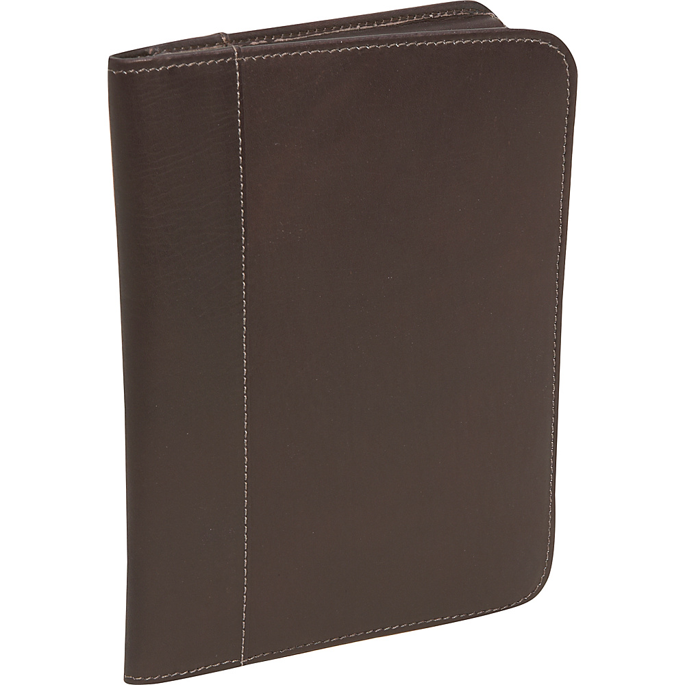 Piel Junior Padfolio - Chocolate - Work Bags & Briefcases, Business Accessories