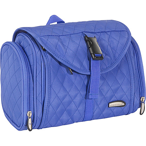 Travelon Hanging Toiletry Kit - Quilted - Periwinkle