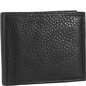 Casual Flip Billfold Black