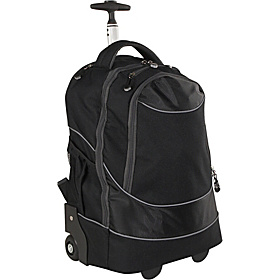 Rolling Computer Backpack Black
