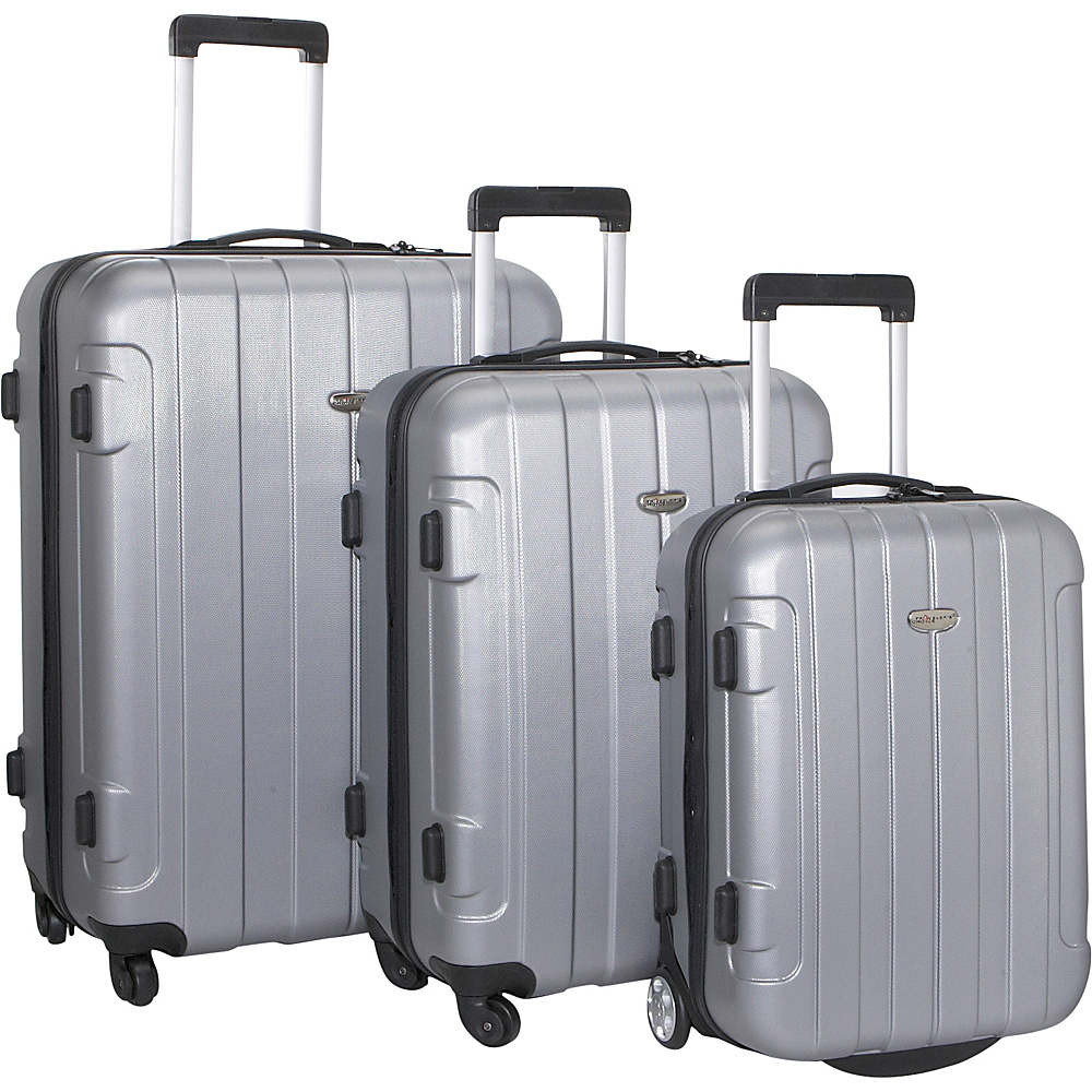 Travelers Choice Rome 3-Piece Hardshell - Luggage, Luggage Sets