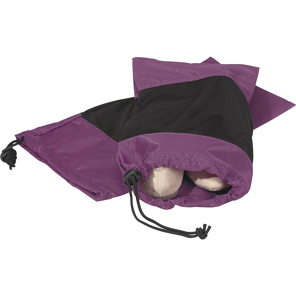 eBags Shoe Sleeves - Set of 2 Eggplant - eBags Travel Organizers - Travel Accessories, Travel Organizers