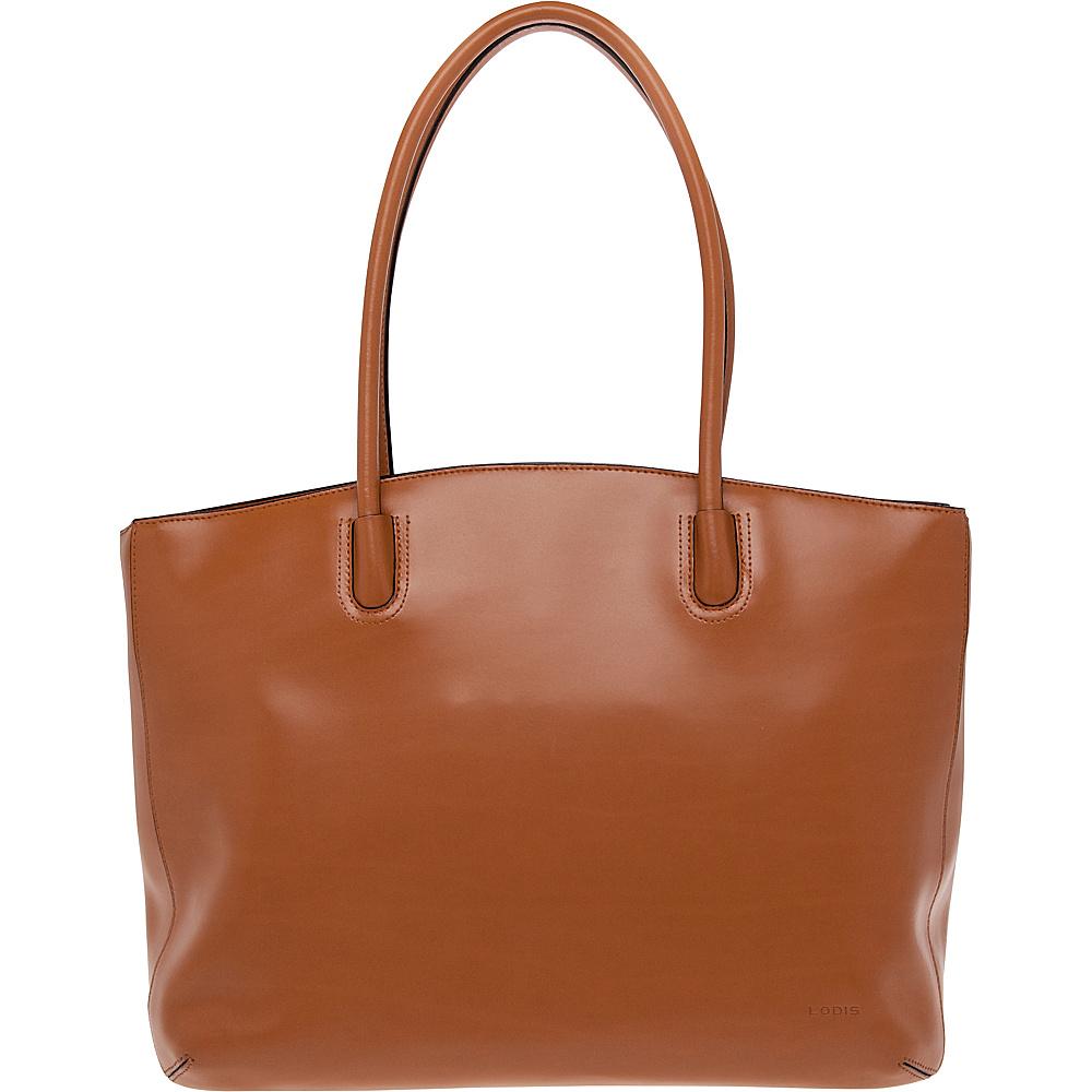 Lodis Audrey Milano Tote - Audrey Toffee - Handbags, Leather Handbags