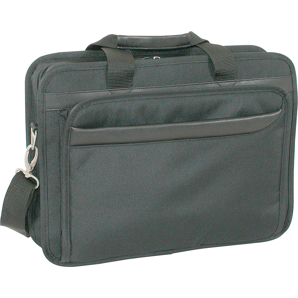 Netpack Top Loading Computer Brief - Black - Work Bags & Briefcases, Non-Wheeled Business Cases