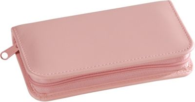 Royce Leather Travel and Grooming Kit - Carnation Pink