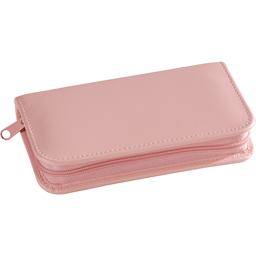 Royce Leather Travel and Grooming Kit - Carnation Pink - Travel Accessories, Travel Health & Beauty
