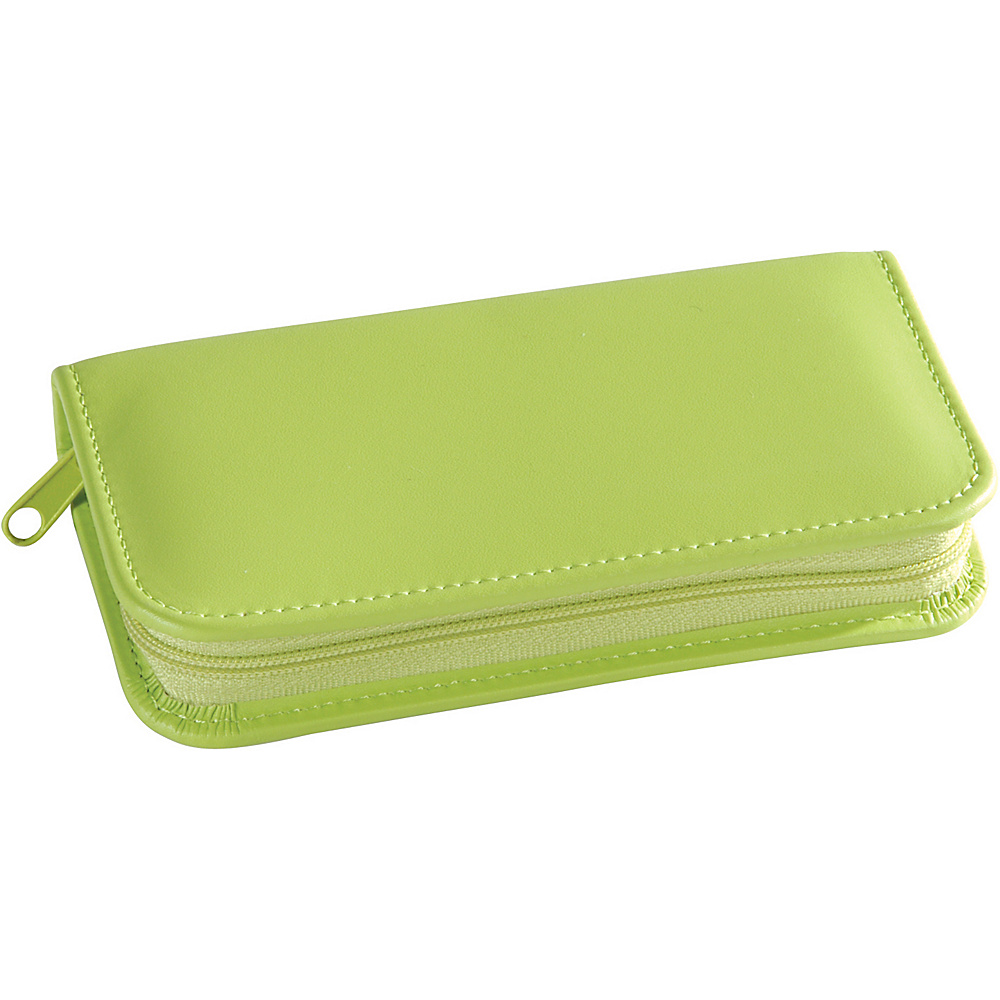 Royce Leather Travel and Grooming Kit - Key Lime Green - Travel Accessories, Travel Health & Beauty