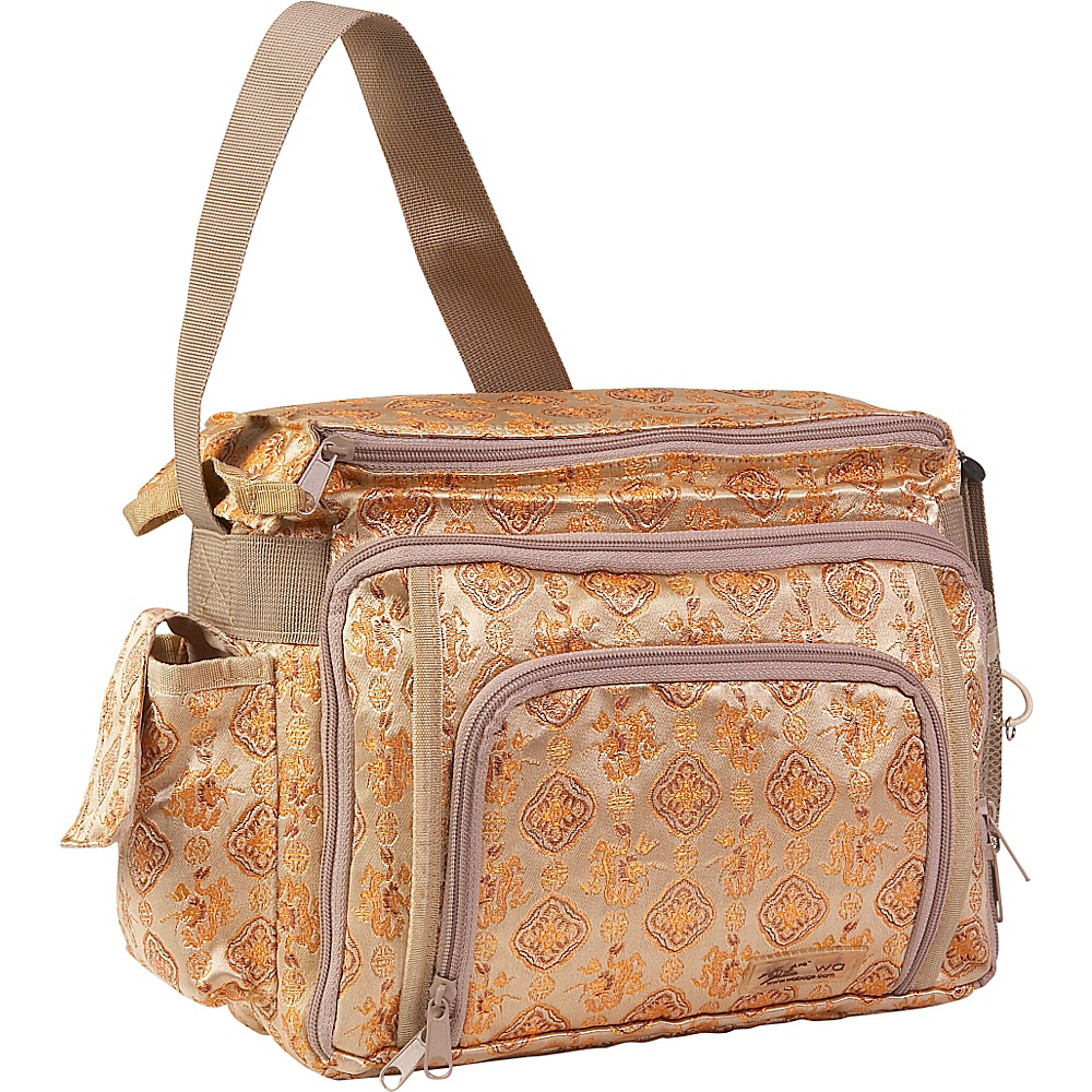 Wabags Madison Diaper/Camera Bag - Annie Gold
