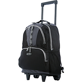 Rolling Backpack 18'' Black