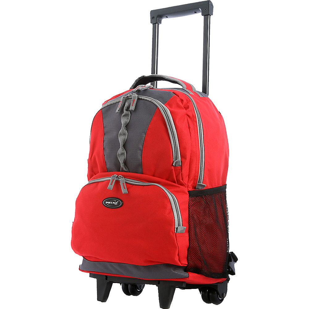 "Olympia Rolling Backpack 18"" - Red"