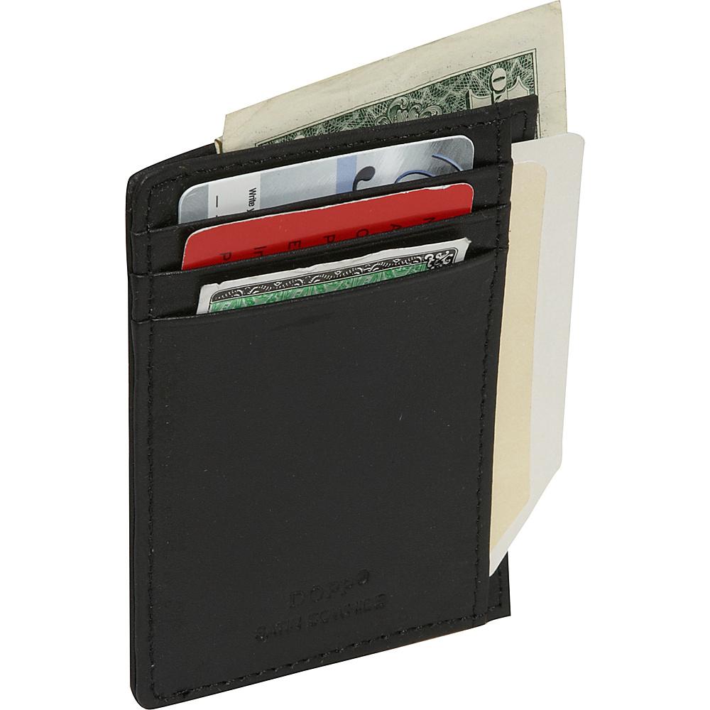 Dopp Regatta 88 Series Front Getaway Pocket - Black - Work Bags & Briefcases, Men's Wallets