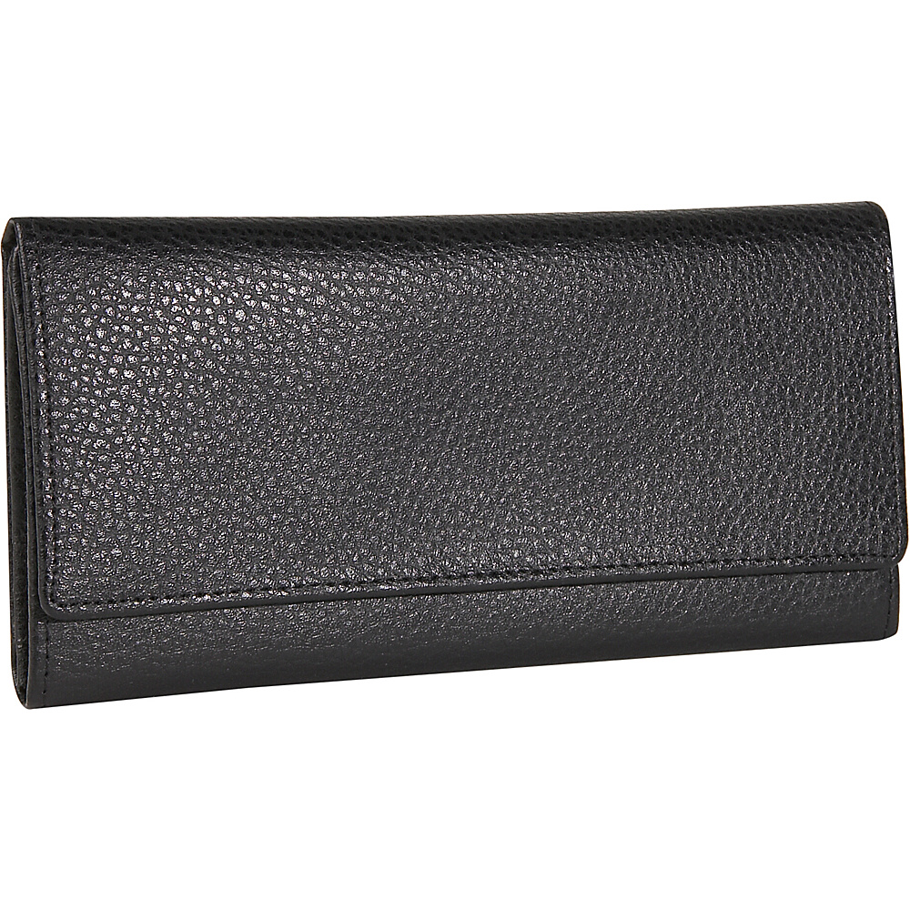 Budd Leather Pebble Grained Leather Continental Wallet - Women's SLG, Women's Wallets