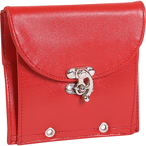 Flote Rider Smooth Leather Pouch - Red