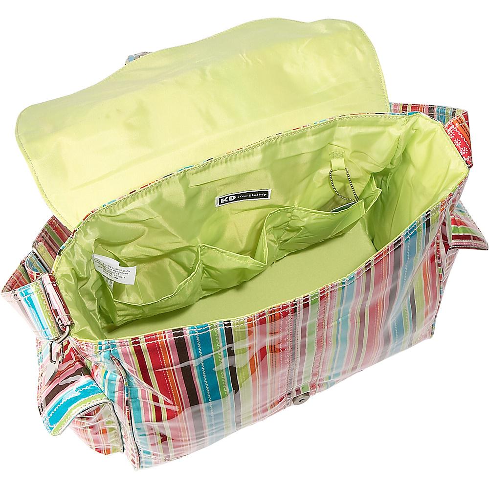 Kalencom Laminated Buckle Diaper Bag - Big Daisy