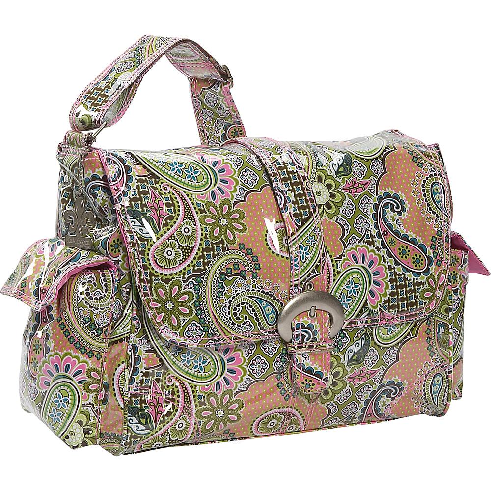 Kalencom Laminated Buckle Diaper Bag - Florentine - Handbags, Diaper Bags & Accessories