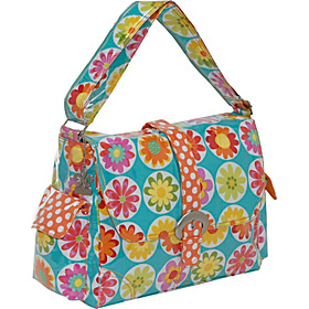 Laminated Buckle Diaper Bag Big Daisy