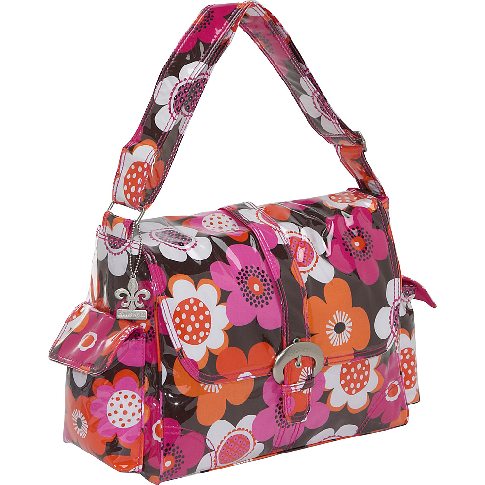 Kalencom Laminated Buckle Diaper Bag - Groovy - Handbags, Diaper Bags & Accessories