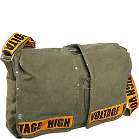 Utility Lap Top Bag Orange