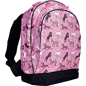 Horses in Pink Sidekick Backpack Horses in Pink