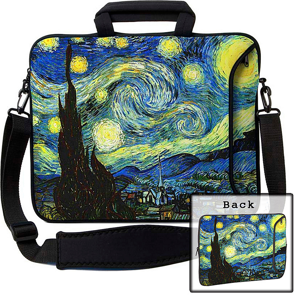 Designer Sleeves 13 Executive Laptop Sleeve Starry Night Designer Sleeves Electronic Cases