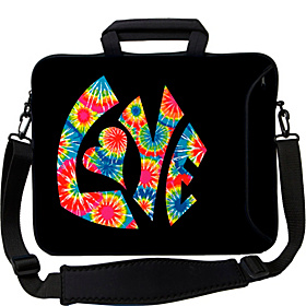 13'' Executive Laptop Sleeve Tie Dye Love