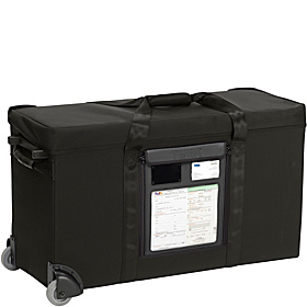 Air Case Rolling Medium Lighting Case Toploader Black
