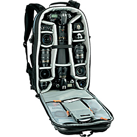 Vertex 300 AW Camera/Laptop Backpack Black/Gray