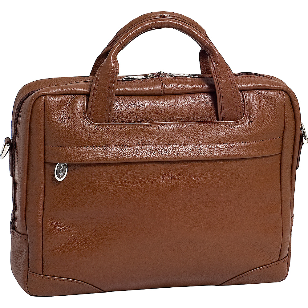 McKlein USA Bronzeville  Leather 15.4 Laptop Brief - Work Bags & Briefcases, Non-Wheeled Business Cases