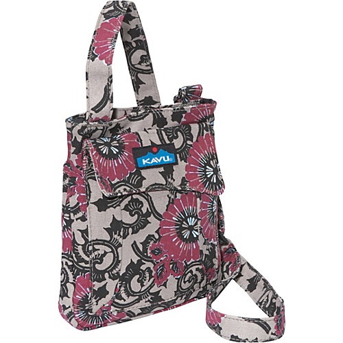 Kavu Mini Keeper Antique Blosson - Kavu Fabric Handbags