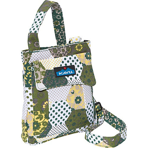 Kavu Mini Keeper Carolina Quilt - Kavu Fabric Handbags