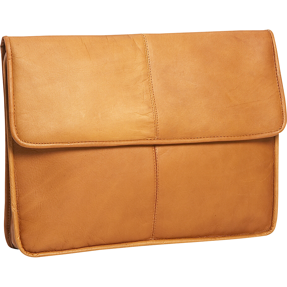 David King & Co. 1/2 Flapover Envelope - Tan - Work Bags & Briefcases, Non-Wheeled Business Cases