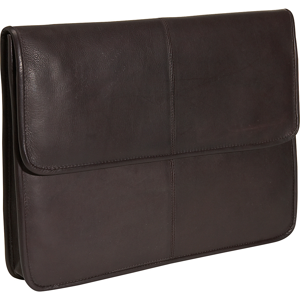 David King & Co. 1/2 Flapover Envelope - Cafe - Work Bags & Briefcases, Non-Wheeled Business Cases