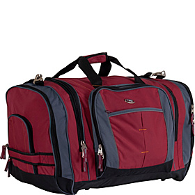 Silver Lake 27'' Duffle Deep Red/Charcoal