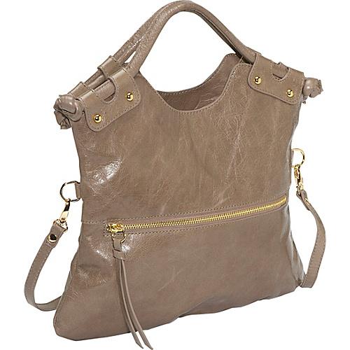 Pietro Alessandro Convertible Handbag: Smooth Leather