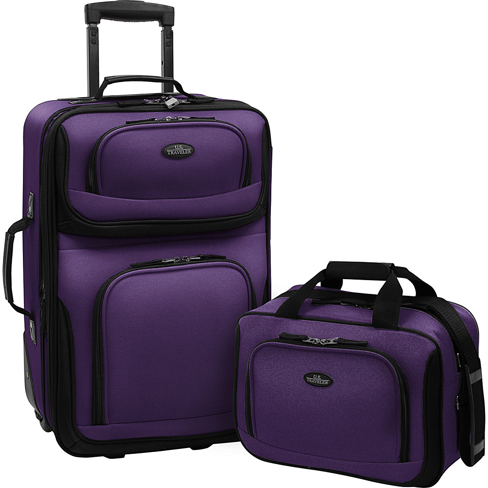 Traveler's Choice Rio 2-Piece Lightweight Carry-On