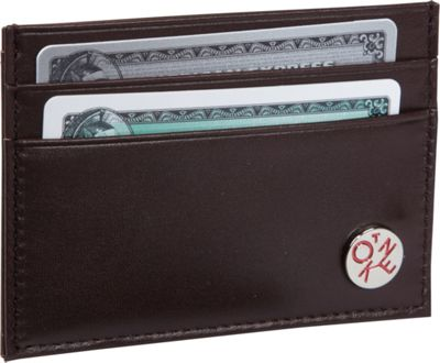 TOKEN Clark Card Holder Dark Brown - TOKEN Men's Wallets