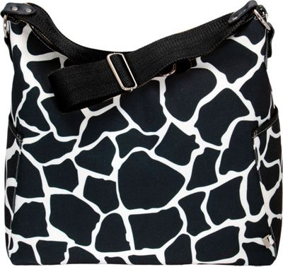 OiOi Black Giraffe Classic Hobo